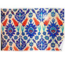 turkish tiles 3 art Poster