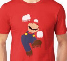 Mario Pixel Silhouette Unisex T-Shirt