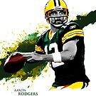 Aaron Rodgers by Allkustom