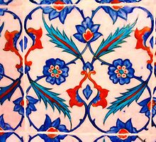 turkish tiles 4 art by Adam Asar