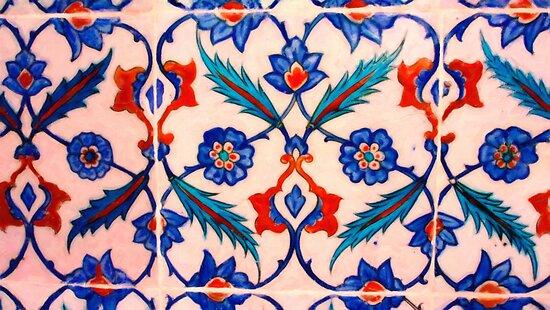 turkish tiles 4 art by MotionAge Media