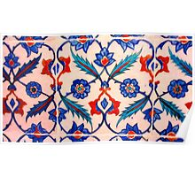 turkish tiles 4 art Poster