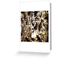 Crystal Chandelier Greeting Card