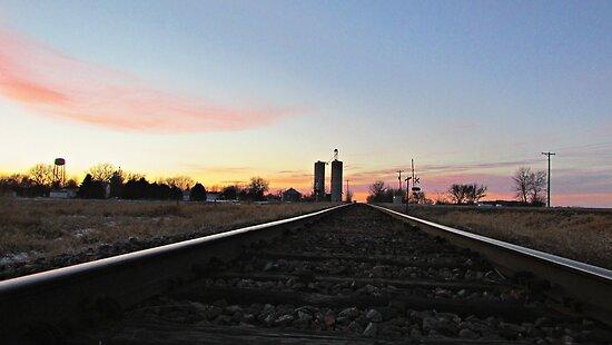 Prairie Rails by Greg Belfrage