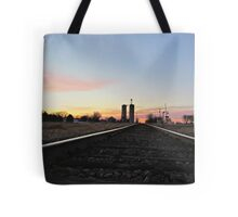 Prairie Rails Tote Bag