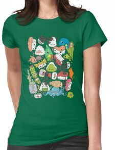 Sushi Bar: The point of Nori-turn Womens Fitted T-Shirt