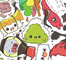 Sushi Bar: The point of Nori-turn Sticker
