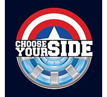 Civil War - Choose Your Side Photographic Print