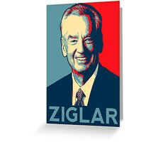 zig ziglar Greeting Card
