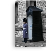 Guarding the Crown Jewels Canvas Print