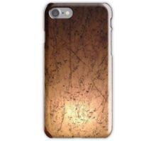 prototype for a series of lamps . . .  iPhone Case/Skin