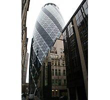 30 St Mary Axe Photographic Print