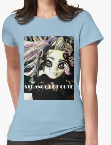 Strange but Cute Womens Fitted T-Shirt