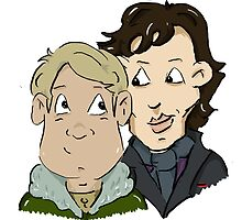 sherlock Holmes and John Watson by jill815