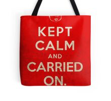 Kept Calm... Now What? (Red Variant) Tote Bag