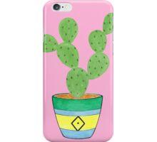 Call Me Cactus - Pink iPhone Case/Skin