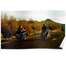Bikers, AZ Poster
