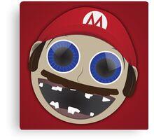 Weird Baby: Mario Canvas Print