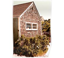 Martha's Vineyard Fishing Shack Massachusetts Poster