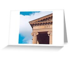 Art Gallery of NSW Facade Greeting Card