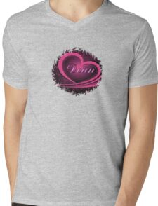 Dean - Ornate Heart (Supernatural) Mens V-Neck T-Shirt