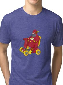 Fat Flash Super Hero Tri-blend T-Shirt