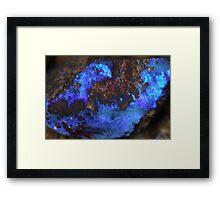 Blue de Vie Framed Print