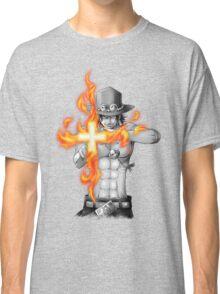 Ace mera mera no mi Classic T-Shirt