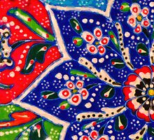 turkish tiles by Adam Asar