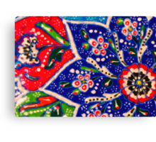 turkish tiles Canvas Print
