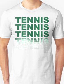 Green Tennis Tennis T-Shirt