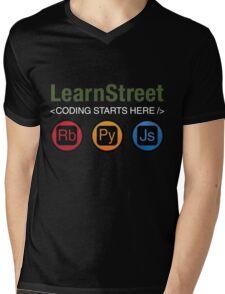 Coding Starts Here Mens V-Neck T-Shirt