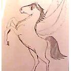 Horse Pegasus by bumper22