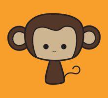 Happy Monkey by hartzelldesign