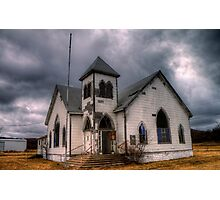 First Methodist Church, Jermyn, Texas Photographic Print