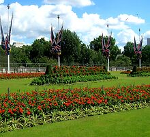 Buckingham Palace Rose Garden by MCellucci
