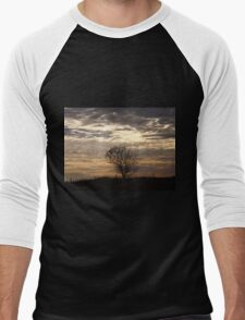 Serenity At Sunset   Men's Baseball ¾ T-Shirt