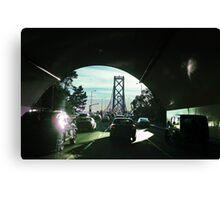 Rush Hour on the Bay Bridge Canvas Print