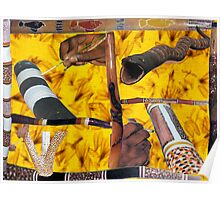 Didgeridoo's by the dozen Poster