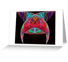 Aztec Headdress Greeting Card