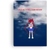 Sailor Chibi Chibi Moon Canvas Print
