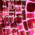 And in the End... by Patricia Lupien