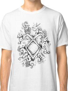 Angelic Rune Mandala Classic T-Shirt