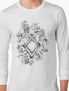 Angelic Rune Mandala Long Sleeve T-Shirt