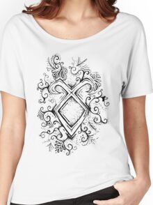 Angelic Rune Mandala Women's Relaxed Fit T-Shirt