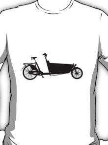 cargo bike black T-Shirt