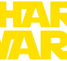 Shart Wars parody T-shirt Sticker