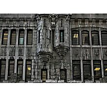 Downtown Montreal Windows Photographic Print