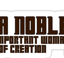 Donna Noble Sticker