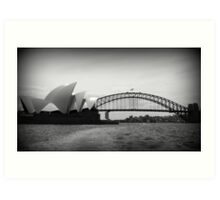 A View of Sydney  Art Print